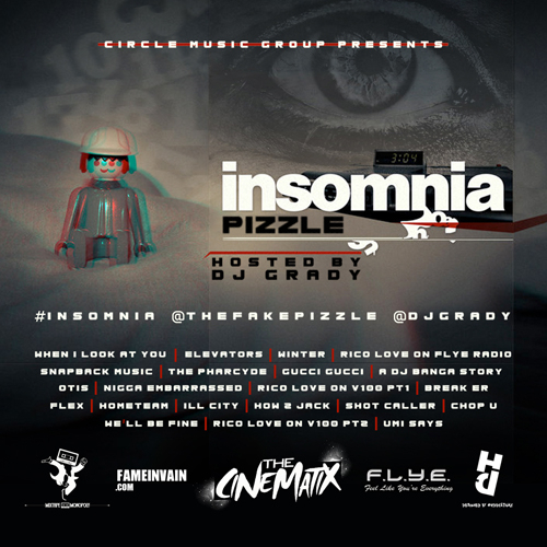 Pizzle - Insomnia tracklist