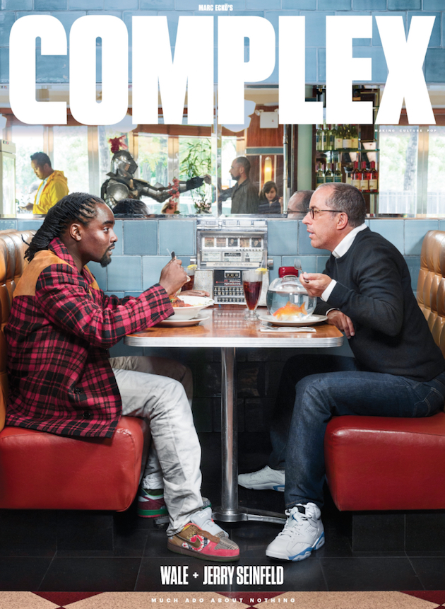 Wale, Jerry Seinfeld - Complex Cover