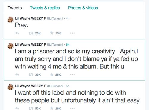Lil Wayne Tweets