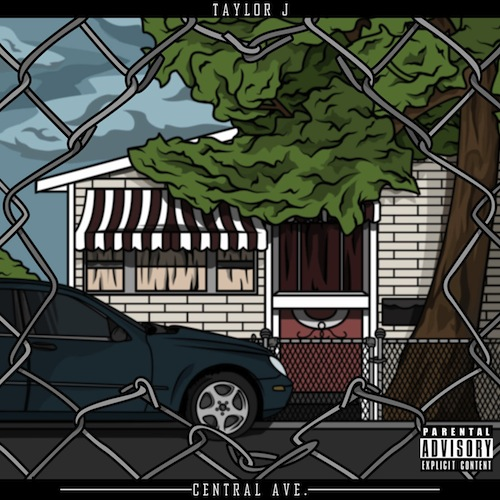 Taylor J - Central Ave EP Cover Art