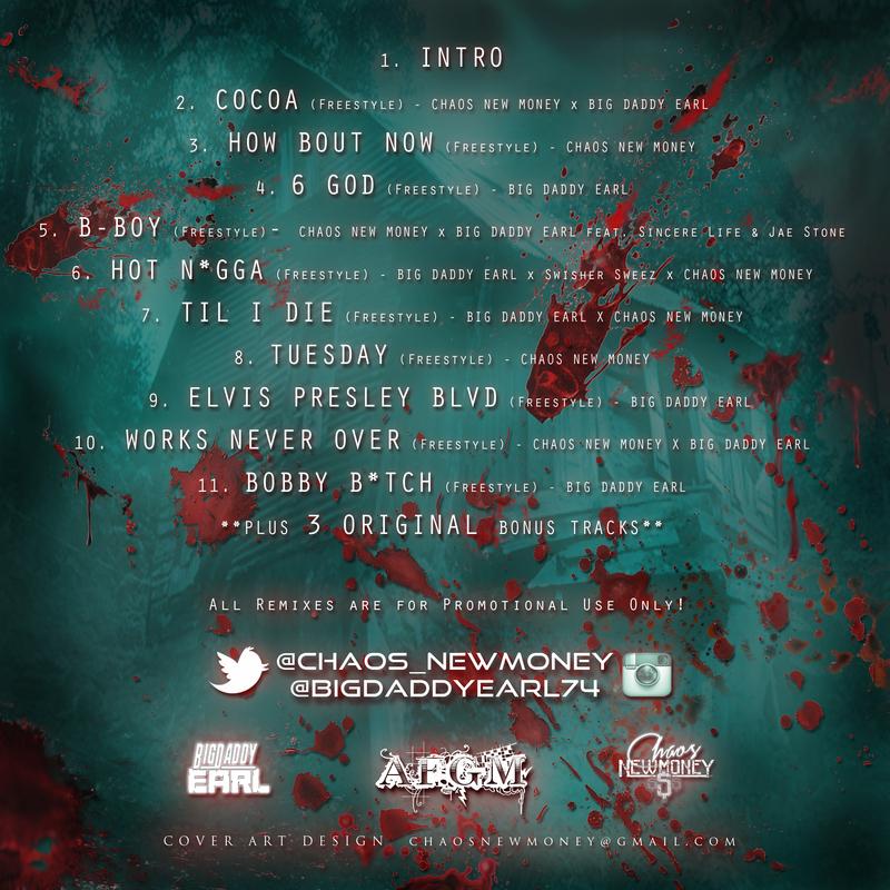 Chaos NewMoney - Ebola The Mixtape Tracklist Cover Art