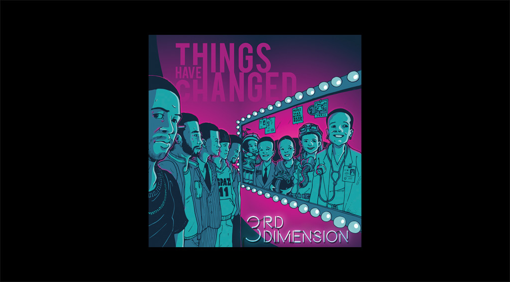 3rd Dimension - GAB - Things Have Changed cover art