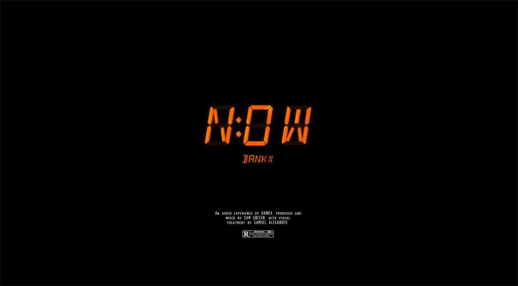 BANKX - NOW cover art