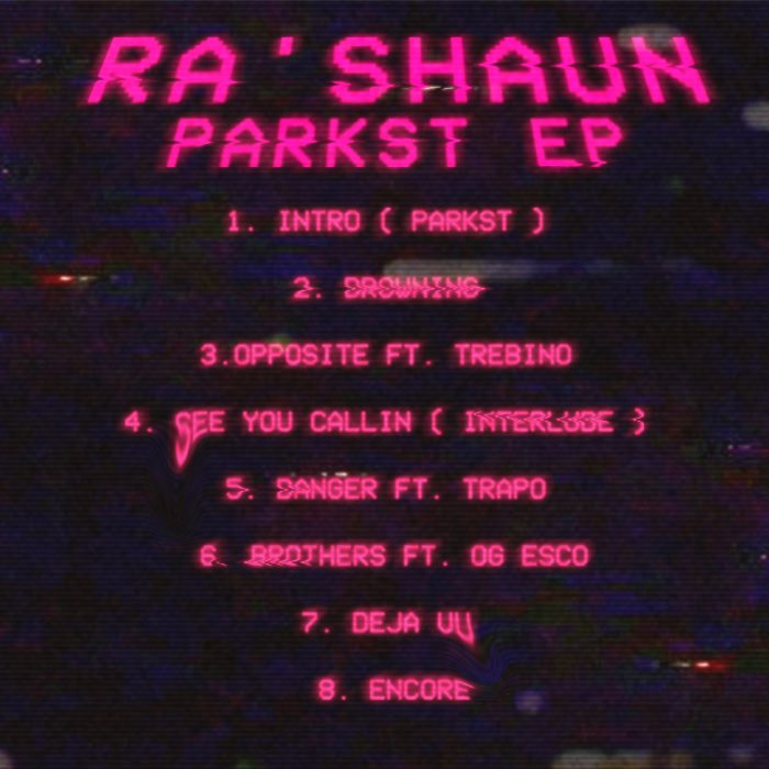Ra'Shaun - Park St EP tracklist cover art