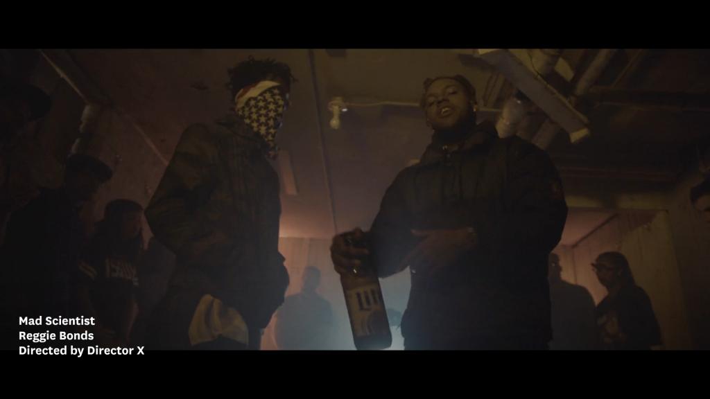 Reggie Bonds - Mad Scientist music video