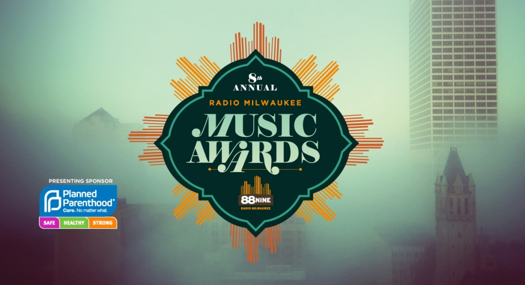 88NINE 2015 Radio Milwaukee Music Awards flyer