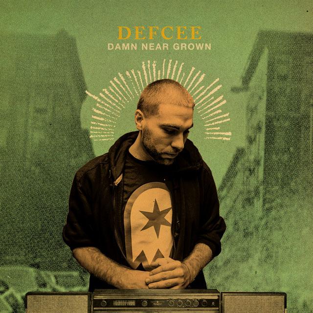 Defcee - Damn Near Grown mixtape album art