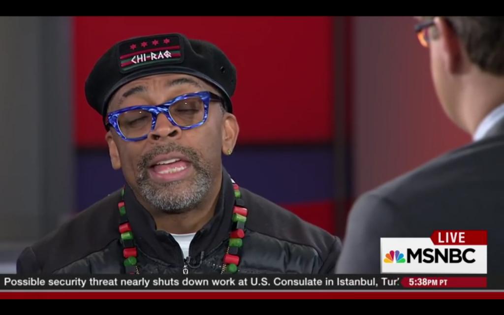 Spike Lee MSNBC Chi-Raq Interview December 9, 2015