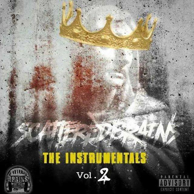 Scattered Brains - The Instrumentals Vol 2 beat tape cover art
