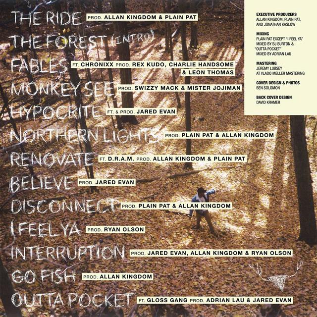 Allan Kingdom - Northern Lights tracklist cover art