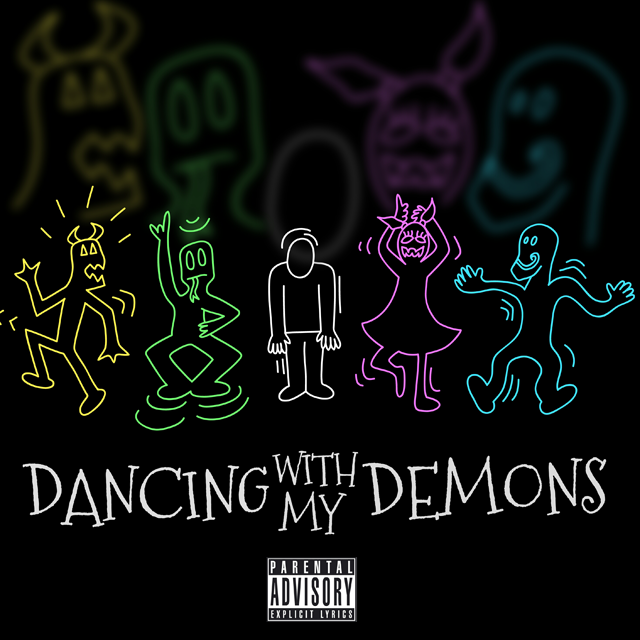 Cinco - Dancing With My Demons EP cover art