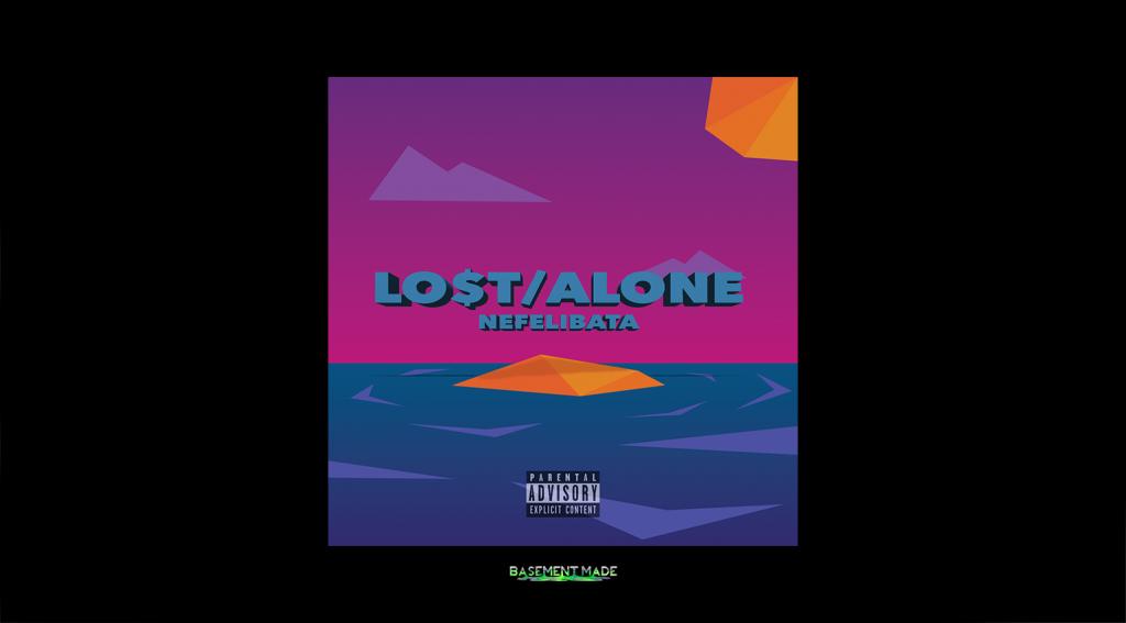 Nefelibata - Lost Alone cover art basement made