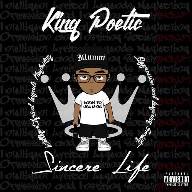 Sincere Life - King Poetic Volume 1 cover art