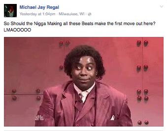 Mike Regal - response to Reggie Bonds