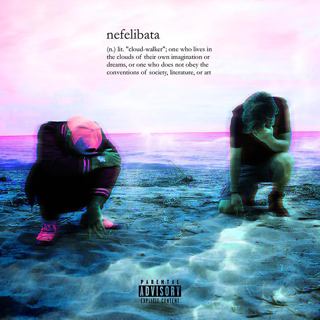 Nefelibata EP cover art drúdini ty$o $upreme basement made