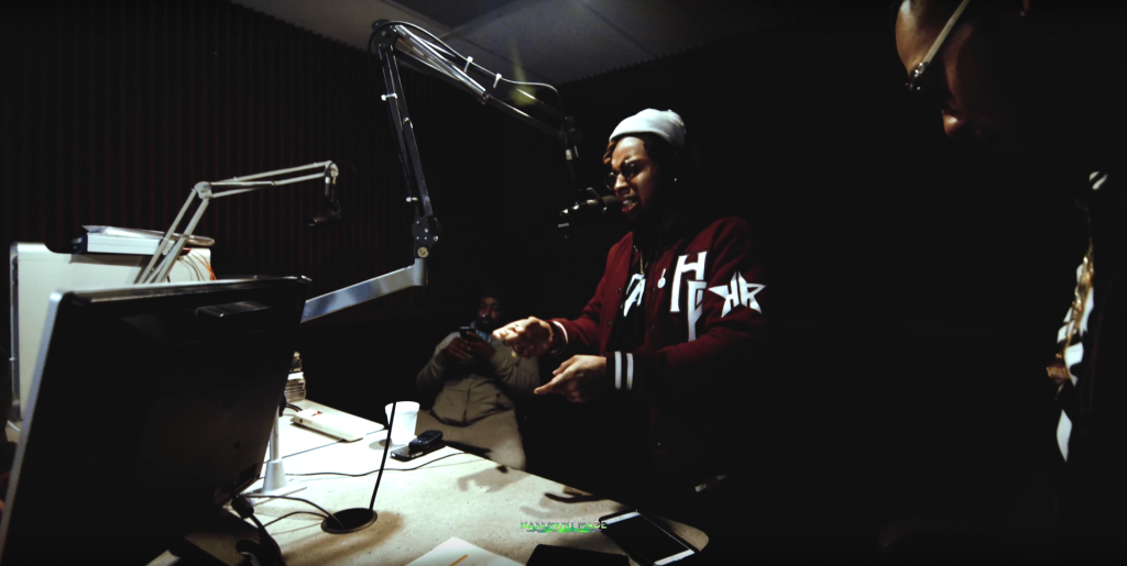 Reggie Bonds - V100.7 Freestyle with Mac Hefner Underwood 100.7 DJ O