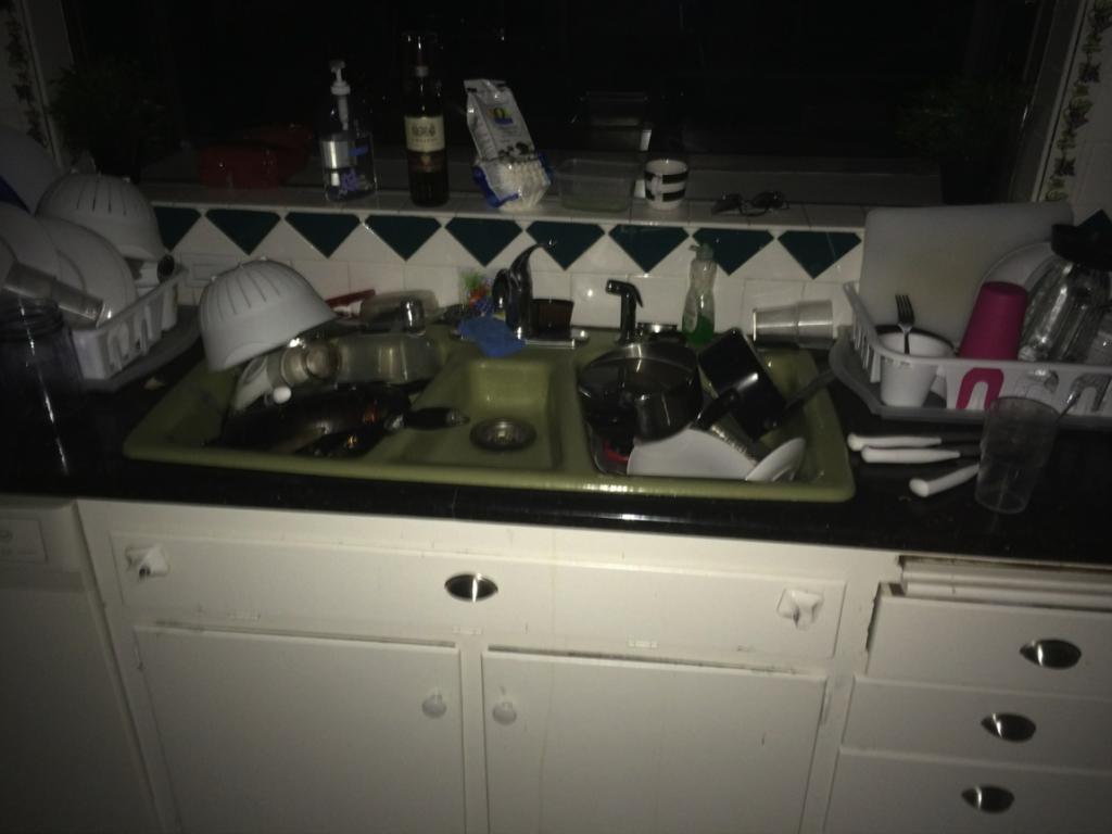 Student Artist Housing kitchen August 12, 2015