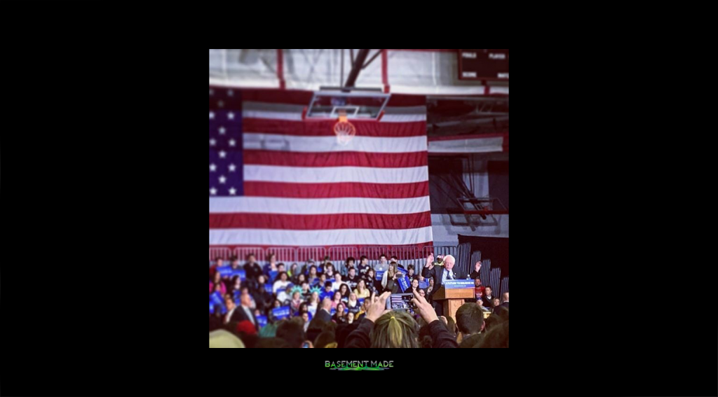 Bernie Sanders in Sheboygan Wisconsin
