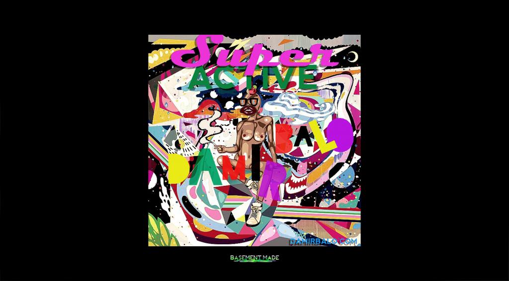 Damir Balo - Super Active cover art premiere