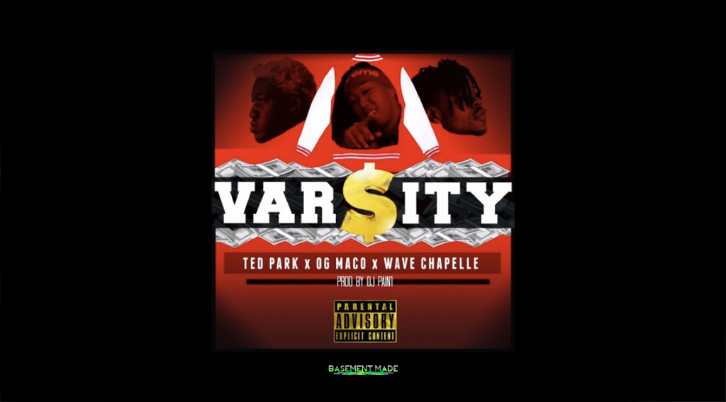 Ted Park - Varsity ft. Wave Chapelle and OG Maco cover art