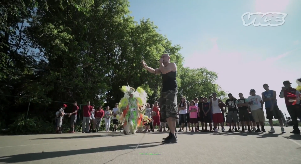 The Score Minnesota Ojibwe Hip Hop video