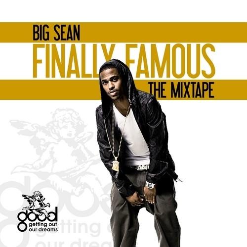 Big Sean - Finally Famous The Mixtape cover art Basement Made