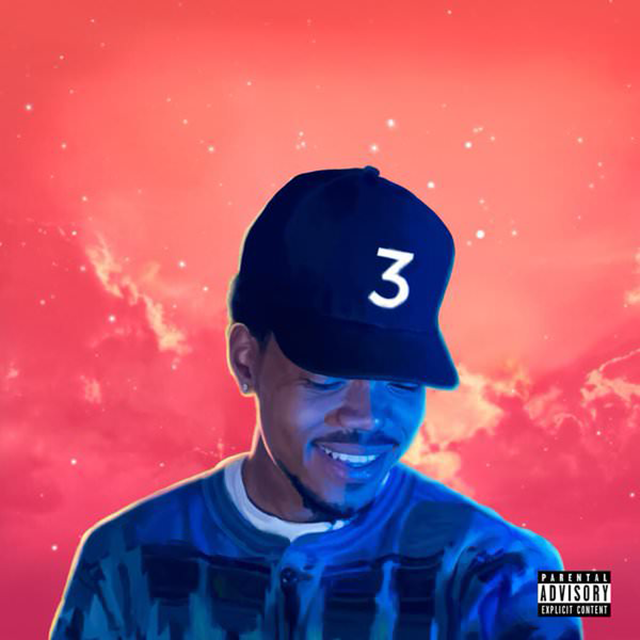 Chance The Rapper - Coloring Book album cover Basement Made