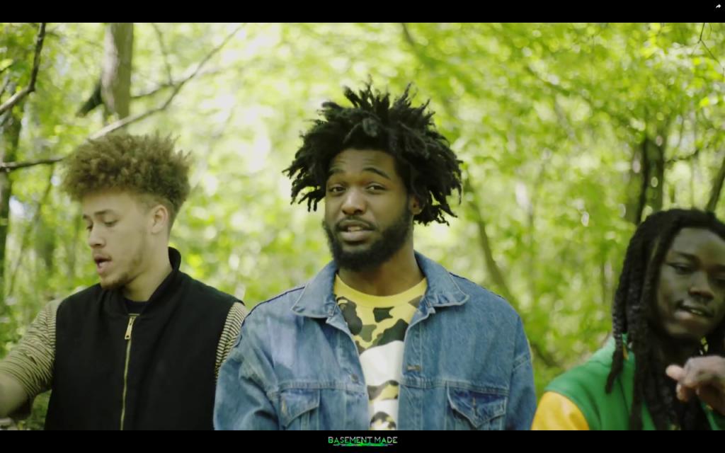 Sunny Woodz - Roots music video ft. Qari Carl CHURCHDONTSTOP Mulatto Beats Basement Made