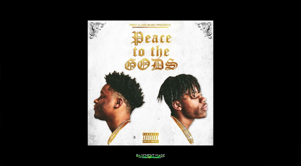 First Class - Peace To The Gods PTTG cover art Basement Made premiere