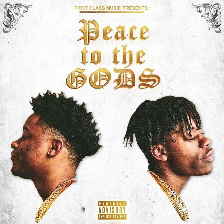 First Class - Peace To The Gods mixtape album cover art Basement Made premiere cover art