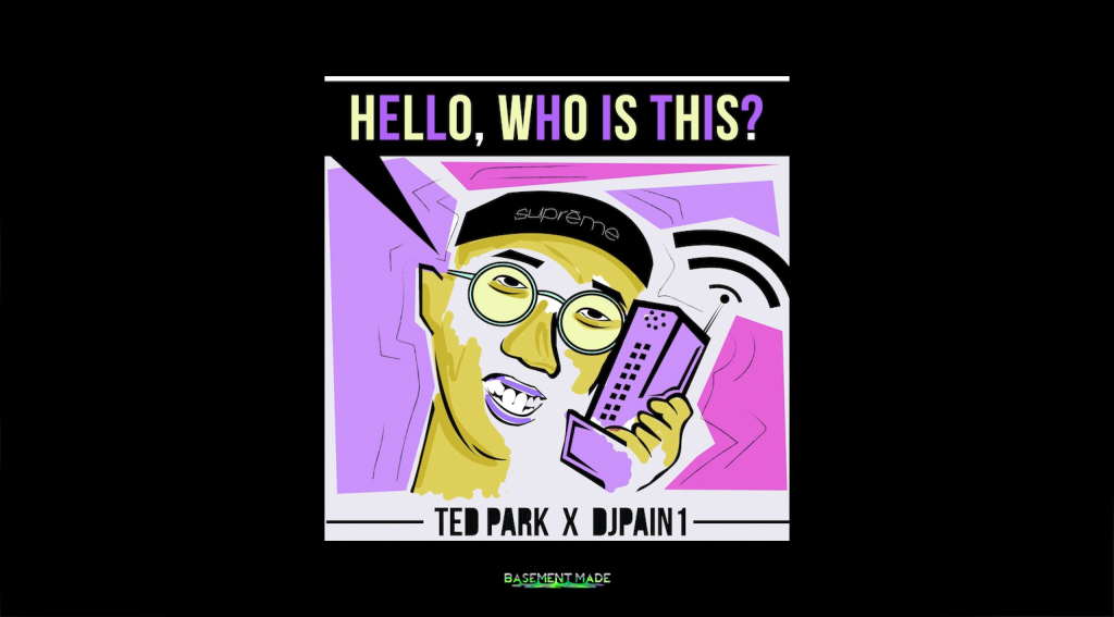Ted Park - Hello Who Is This cover art basement made