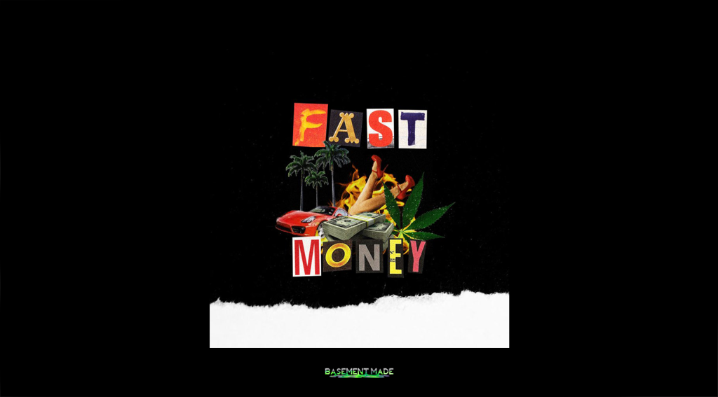Yung Satori fast money cover art basement made 4keys
