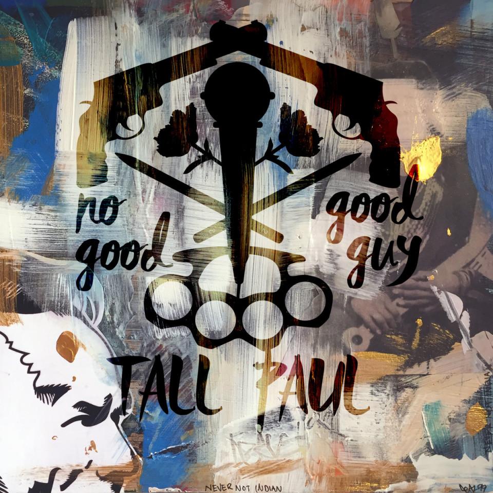 tall paul no good good guy album cover art basement made