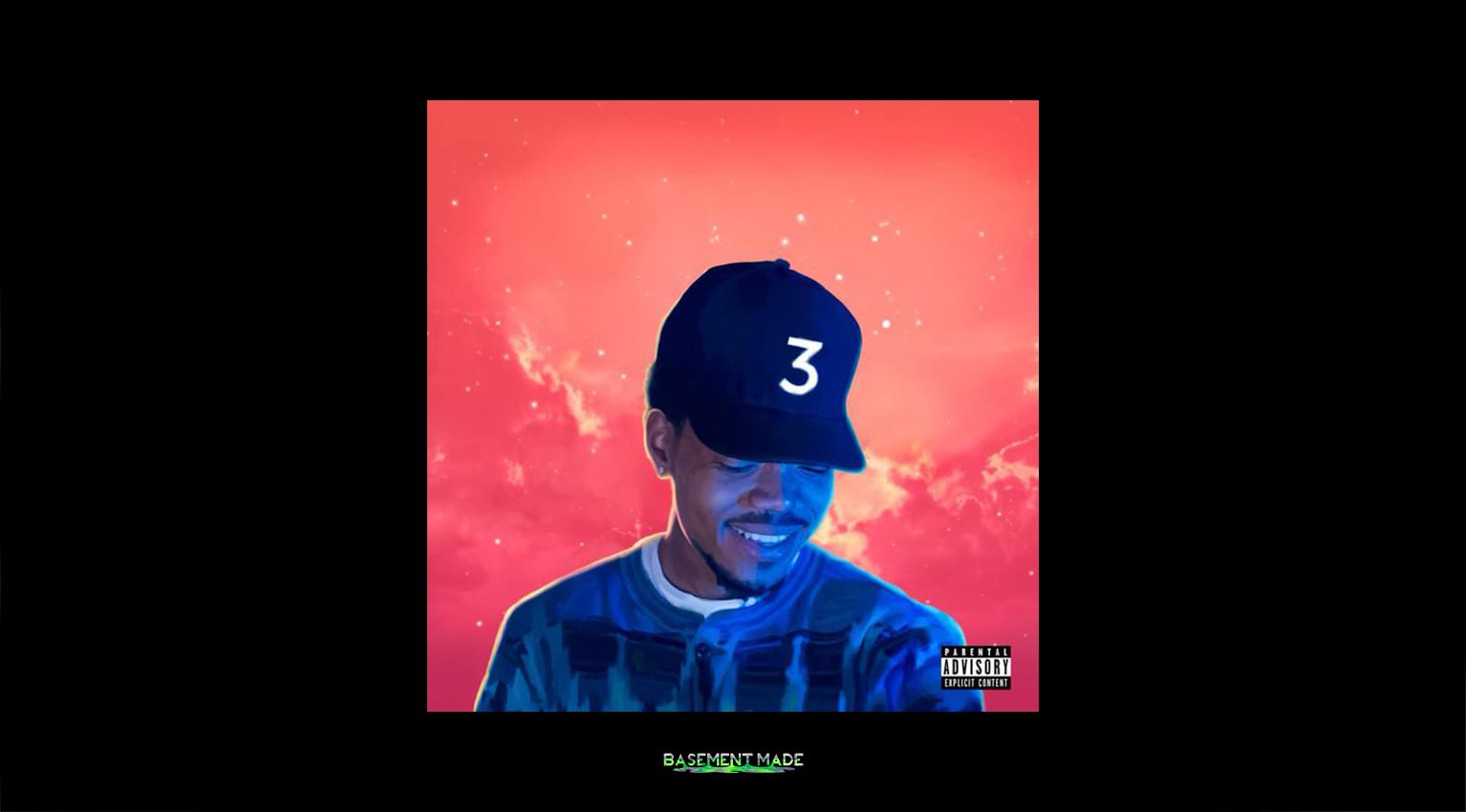 Coloring Book Cover Art Chance The Rapper